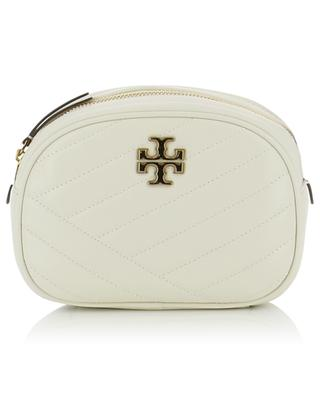Kira Chevron Small quilted leather shoulder bag TORY BURCH