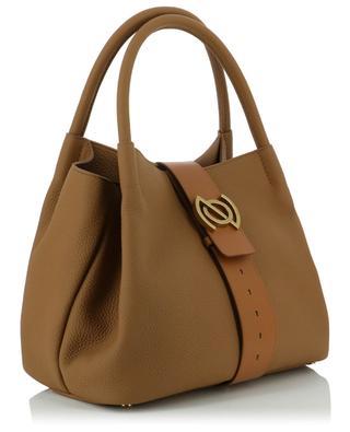 Handtasche aus genarbtem Leder Zoe M Linea Pura ZANELLATO