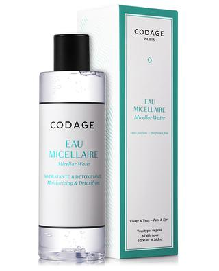 Micellar Water Face & Eyes - All skin types - 200 ml CODAGE