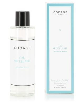 Eau Micellaire Visage & Yeux - Tous types de peau - 200 ml CODAGE