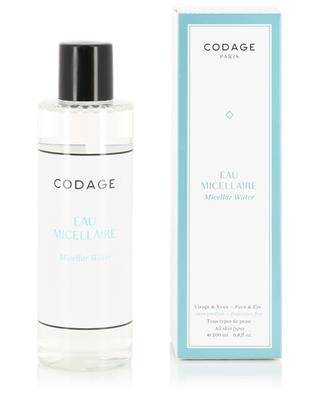 Micellar Water Face & Eyes - All skin types - 200 ml CODAGE