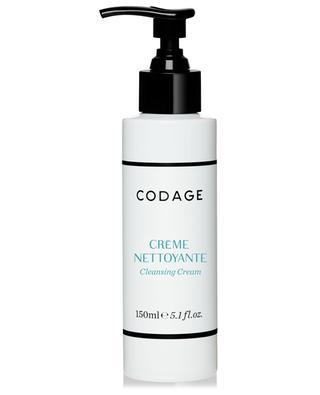 Crème nettoyante visage peau normale à sèche - 150 ml CODAGE