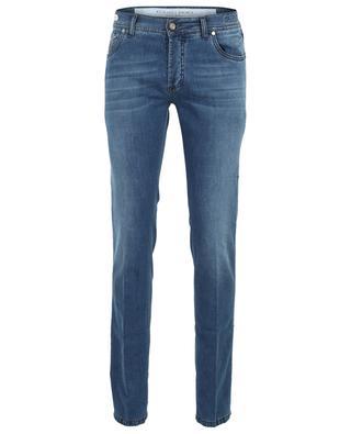 Tokyo cotton and linen slim fit jeans RICHARD J. BROWN