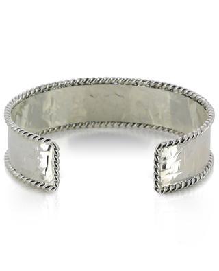 B 162 hammered silver cuff POGGI