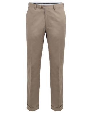 Pantalon slim en coton et cachemire mélangés Tigullio BRIONI