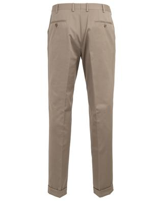 Tigullio cotton and cashmere blend slim fit trousers BRIONI
