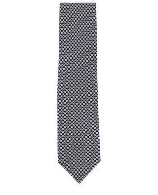Print silk tie BRIONI