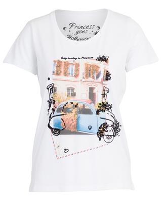 T-Shirt mit Postkarten-Print Lazy Sunday in Provence PRINCESS