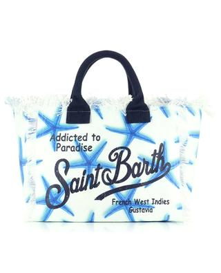 Shopper aus Segeltuch Vanity Queen Starfish MC2 SAINT BARTH