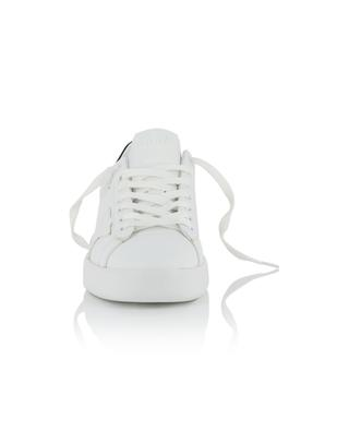 Pure Star wedge sneakers in white and black leather GOLDEN GOOSE