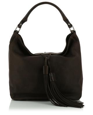 Hermine large nubuck leather tote bag BERTHILLE CHARLES ET CHARLUS
