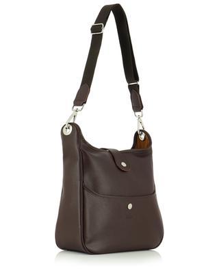 Claudia grained leather shoulder bag BERTHILLE MAISON FRANCAISE