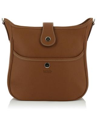 Mini Claudia grained leather shoulder bag BERTHILLE CHARLES ET CHARLUS