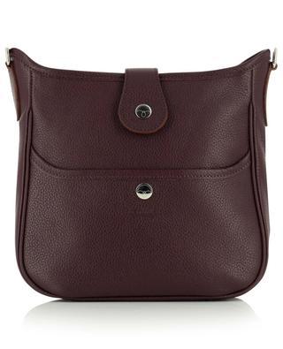 Mini Claudia grained leather shoulder bag BERTHILLE MAISON FRANCAISE
