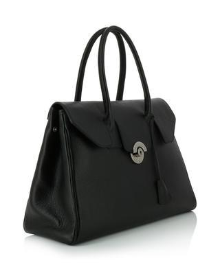 Cortina large grained leather handbag BERTHILLE CHARLES ET CHARLUS