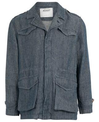 Field Jacket denim effect linen parka VALSTAR MILANO 1911
