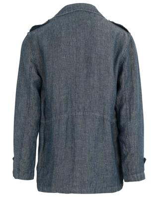 Parka en lin effet denim Field Jacket VALSTAR MILANO 1911