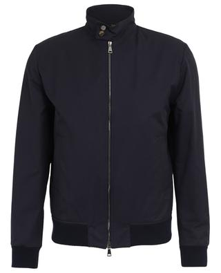 Lightweight water repellent cotton blend jacket with stand-up collar VALSTAR MILANO 1911