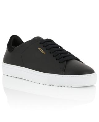 Clean 90 black smooth leather and suede sneakers AXEL ARIGATO