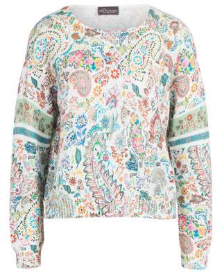 Summer Paisley printed cotton jumper PRINCESS