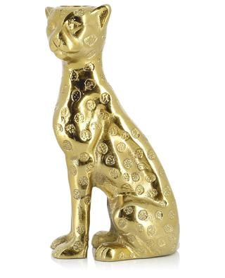 Goldener Kerzenhalter Leopard KLEVERING