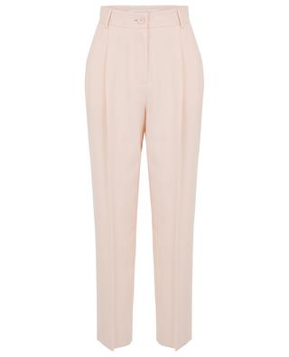Pink crepe carrot pants SEE BY CHLOE