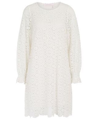 White lace mini dress SEE BY CHLOE