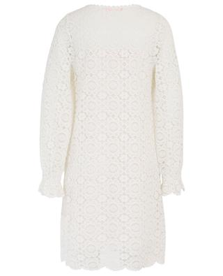 Robe courte en dentelle blanche SEE BY CHLOE