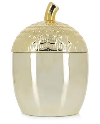 Tiegel aus goldenem Steingut Acorn Large KLEVERING
