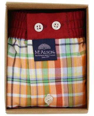 Boxershorts aus Baumwolle mit Karoprint MC ALSON