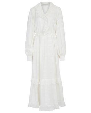 Langes Kleid aus Seidenjacquard ETRO