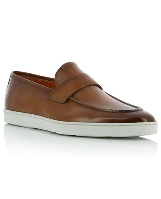 Calf leather loafers SANTONI