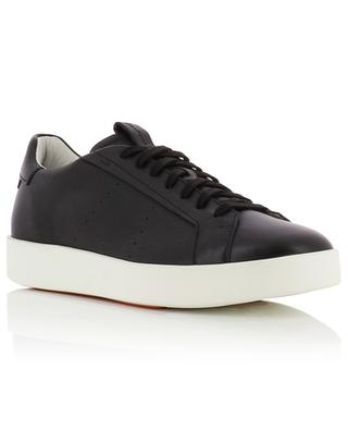 Lace-up low-top leather sneakers SANTONI