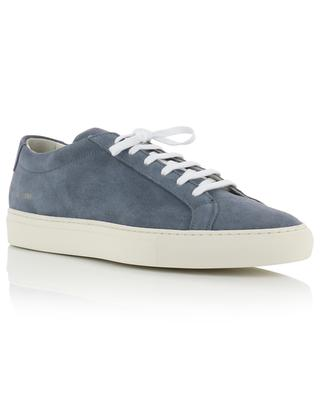 Baskets basses minimalistes en daim Achilles COMMON PROJECTS