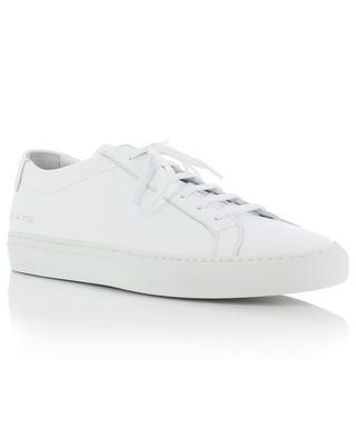Baskets minimalistes en cuir blanc Original Achilles COMMON PROJECTS