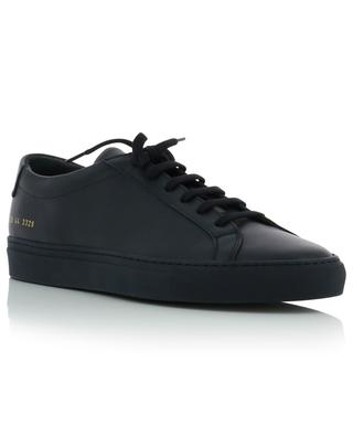 Original Achilles minimalistic navy blue leather sneakers COMMON PROJECTS