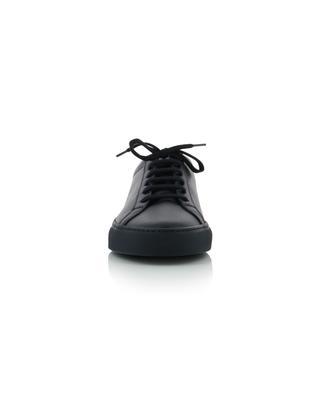 Baskets minimalistes en cuir bleu marine Original Achilles COMMON PROJECTS