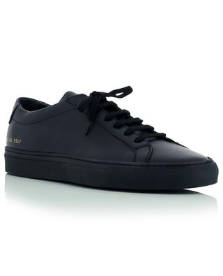 Original Achilles minimalistic black leather sneakers COMMON PROJECTS