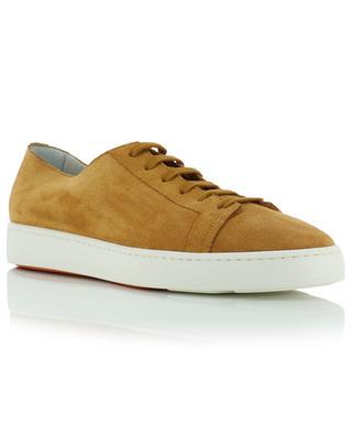 Lightweight low-top suede sneakers SANTONI
