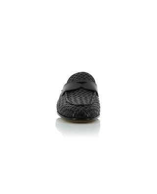 Mokassins aus gewebtem Leder SANTONI