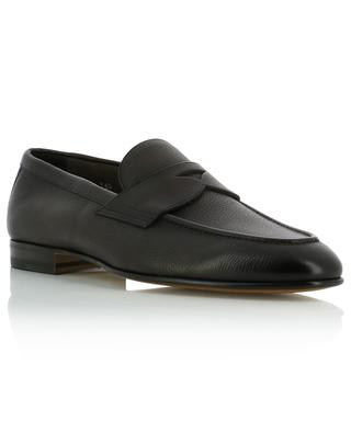 Colour gradient grained leather loafers SANTONI