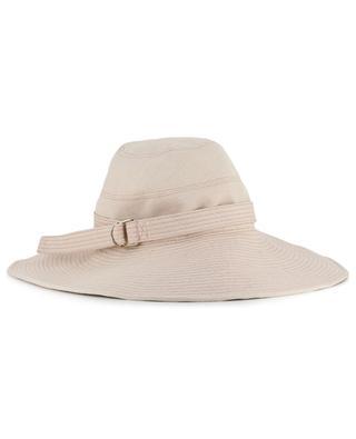 Cotton hat with large brim INVERNI FIRENZE