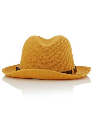 Chapeau en chanvre de Manille avec bande en cuir GREVI