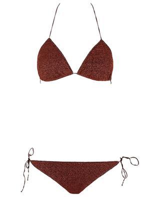 Bikini triangle en lurex scintillant Lumière OSEREE