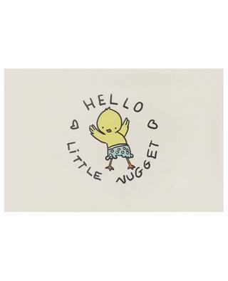 Glückwunschkarte für Geburt Hello Little Nugget MATHILDE CABANAS