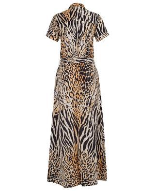 Hemdkleid aus Viskose mit Gepard-Print Naomi MELISSA ODABASH