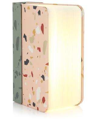 Tragbare Lampe und externes Ladegerät Mini Lumio+ Terrazzo LUMIO