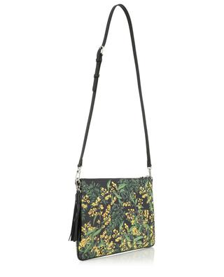 Merita Mimosa printed coated fabric clutch FONFIQUE