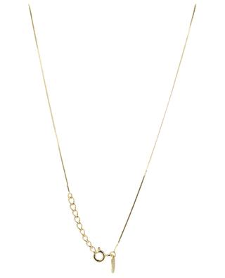 Queen Sea golden necklace with cultured pearl CAROLINE NAJMAN