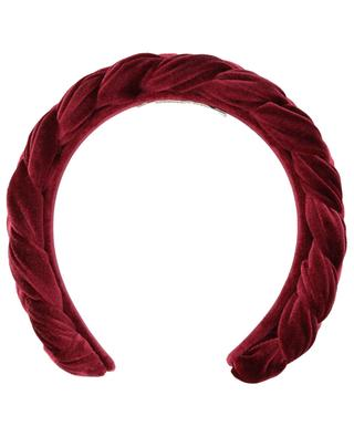 Braided velvet headband MARZOLINE MILANO